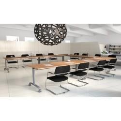 Table de réunion abattante